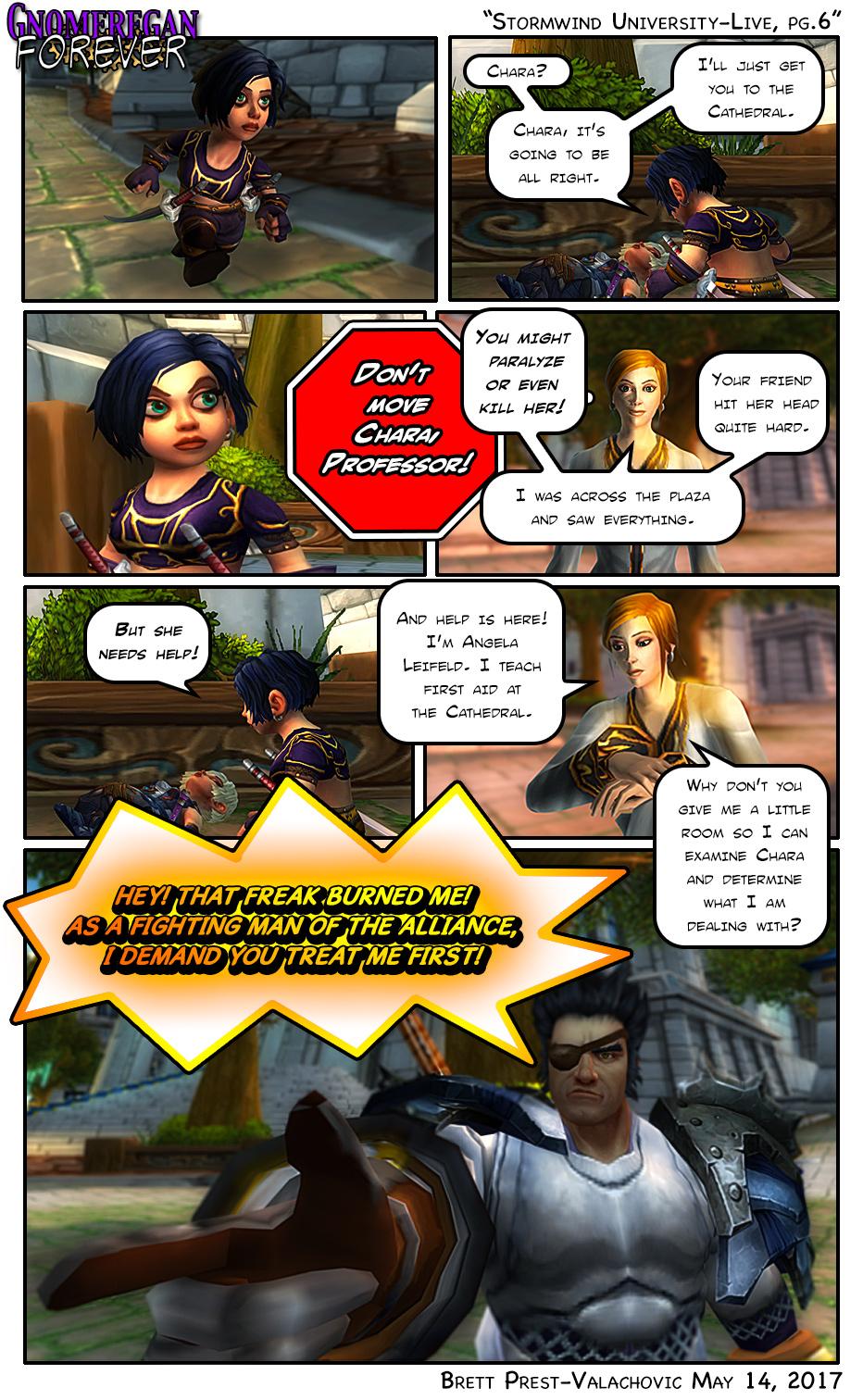 Stormwind University Live, pg.6