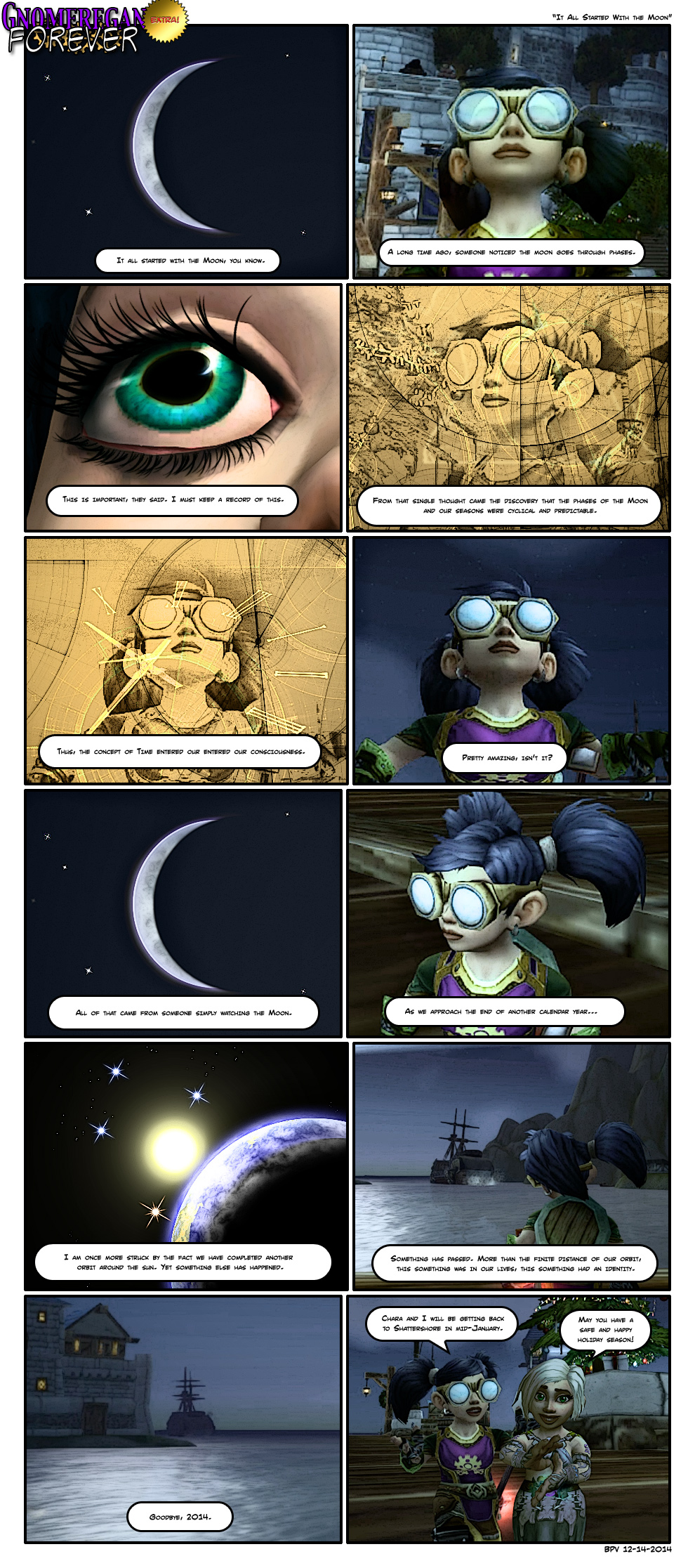 It All Started With The Moon